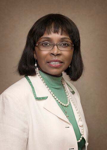 Patricia Wilson (Dr.) : Vice President of Student Services