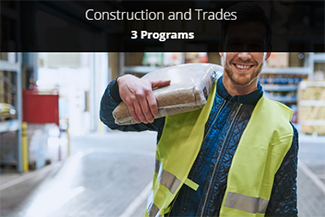 Construction and Trades - 3 Programs