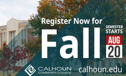 Register now for Fall! Semester start August 20!