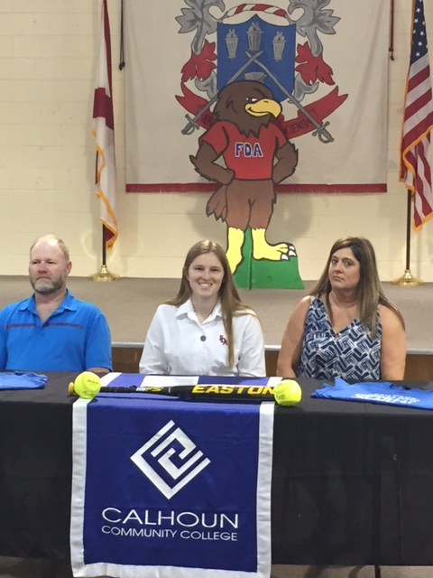 Bailey Coker - Catcher - Ft. Dale Academy, Greenville, AL