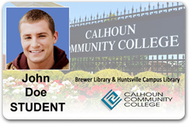 student id card calhoun community college