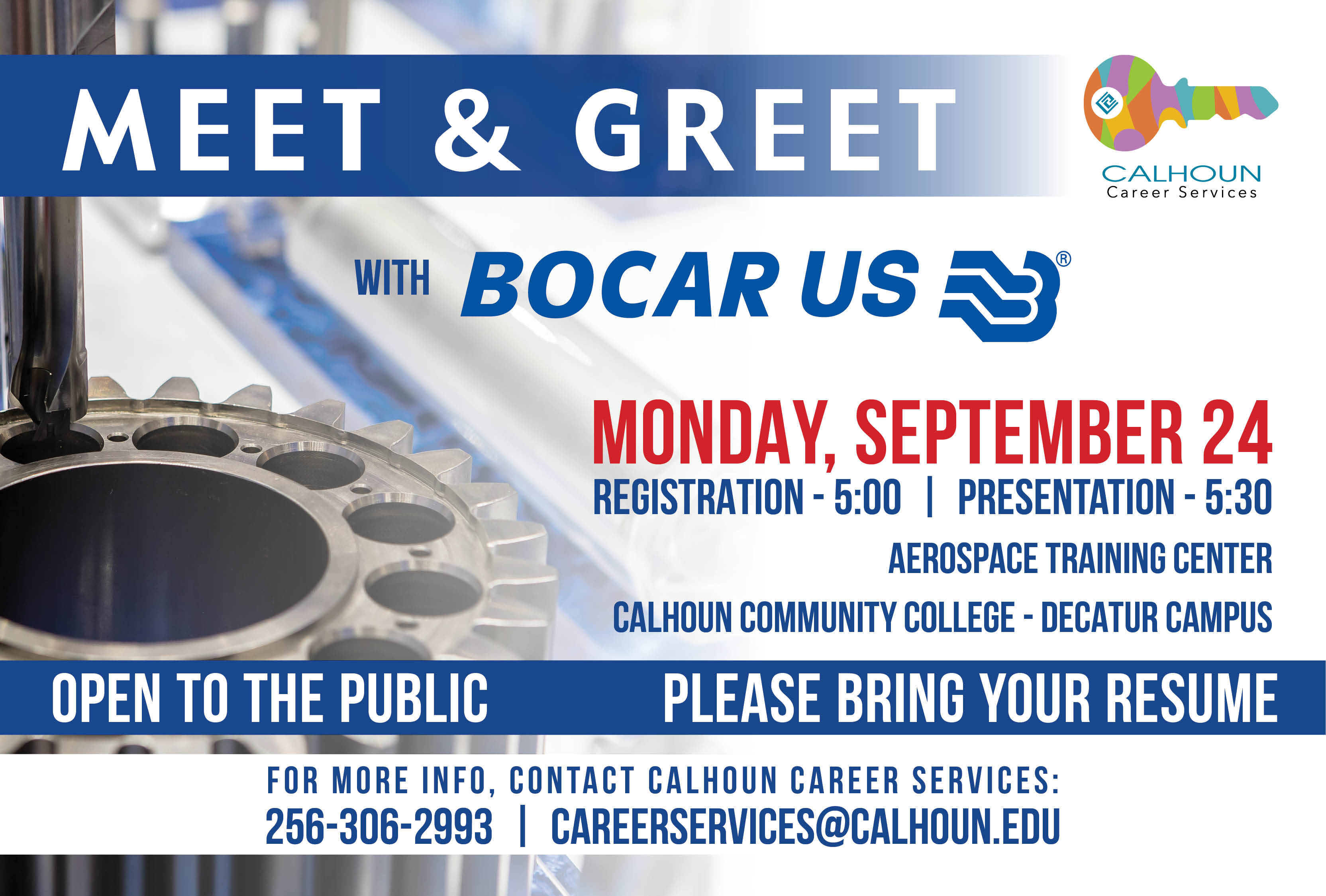 Calhoun Community College To Host Bocar Meet And Greet Event Today