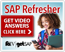 SAP Refresher - Get Video Answers