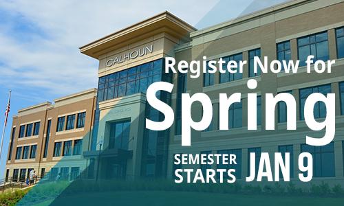 Register now for spring 2019! Semester starts January 9