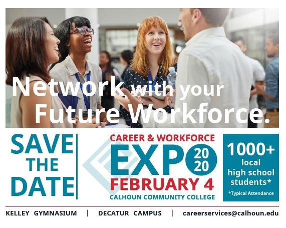 Career expo graphic