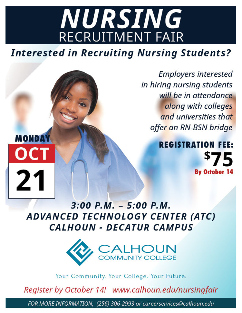 Nursing Recruitment Fair Flyer