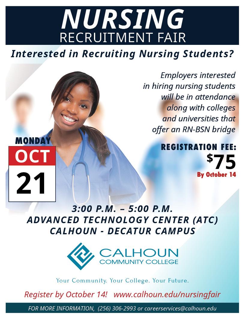 nursing recruitment fair  u2013 calhoun community college