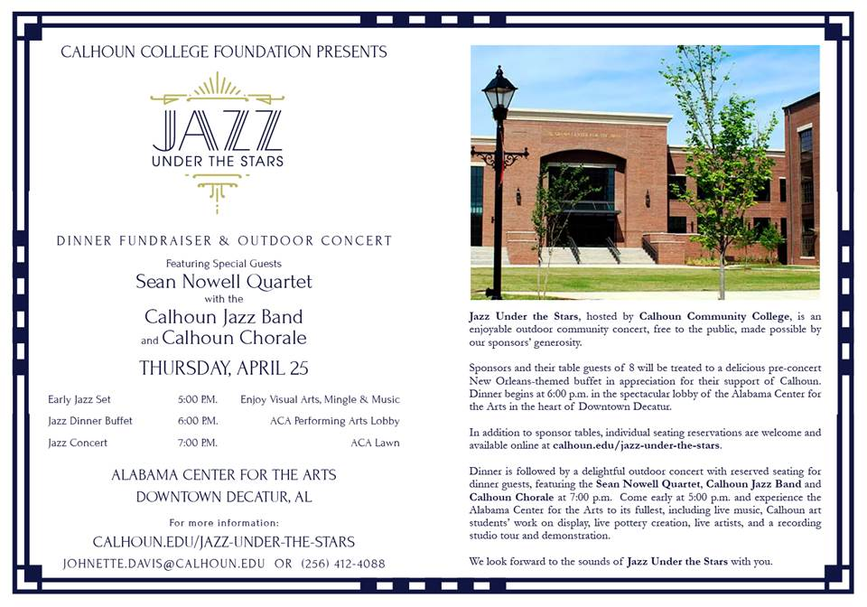 Jazz Under the Stars Invitation