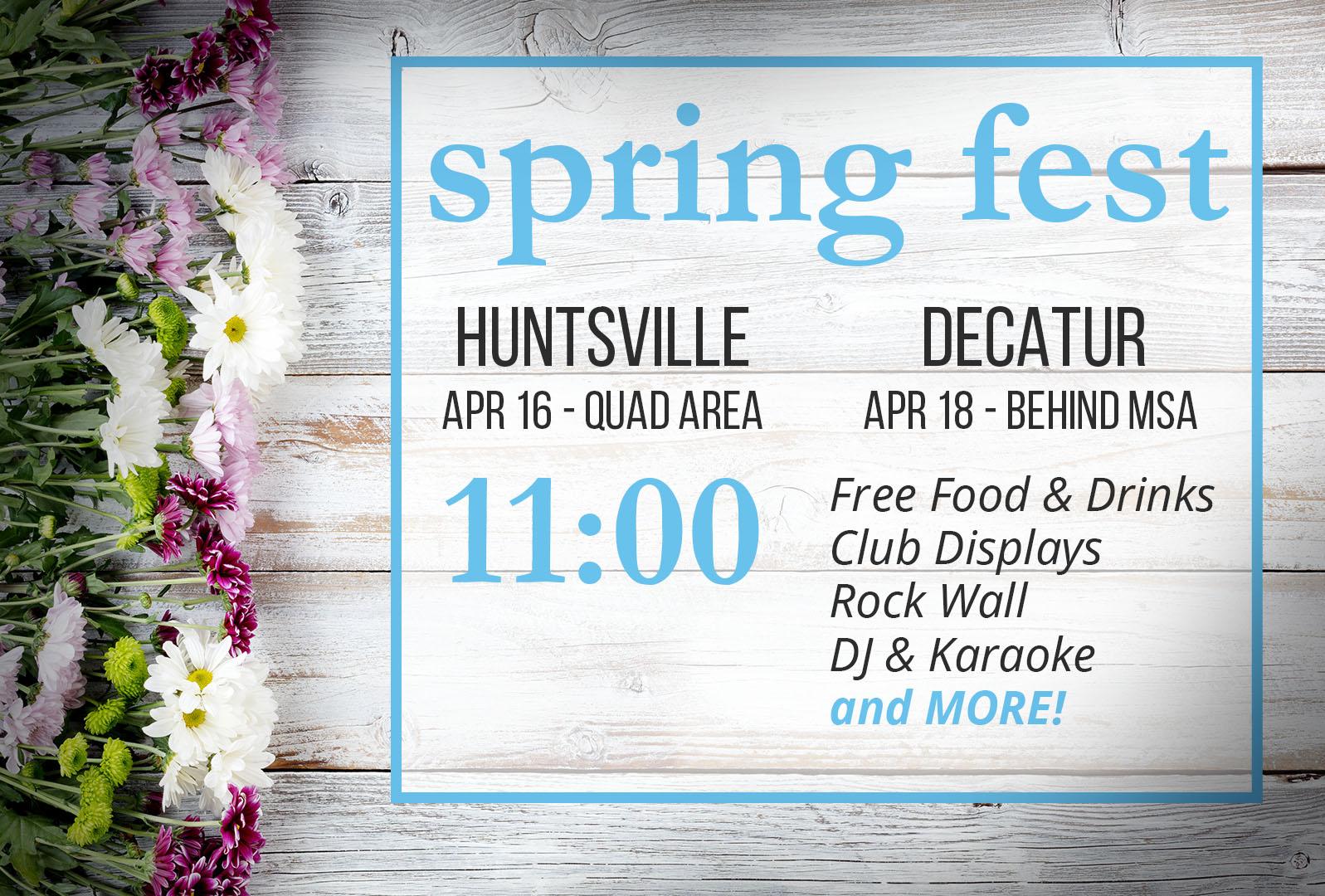 Spring Fest Graphic