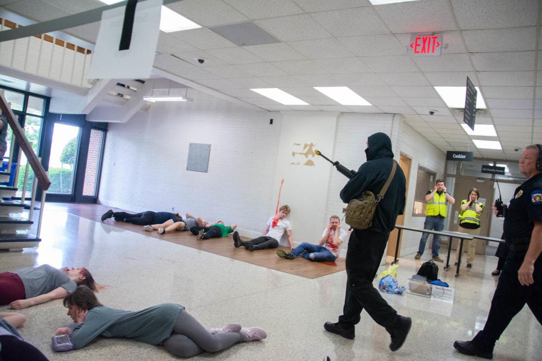mass casualty drill calhoun community college