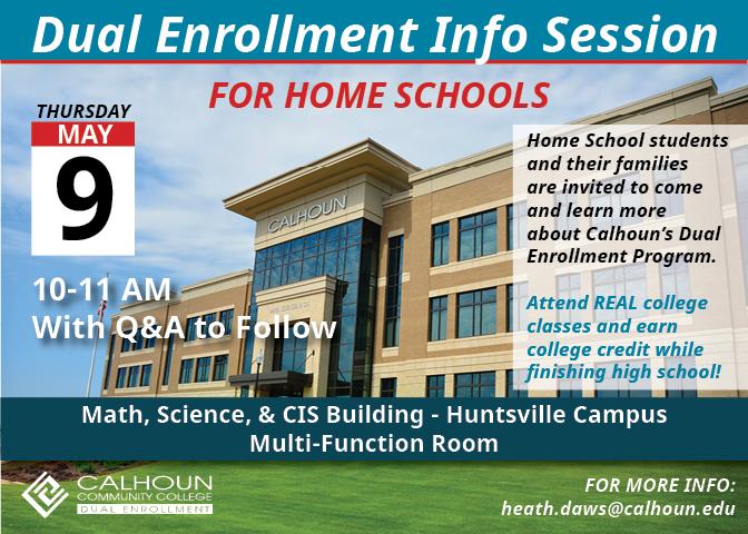 Dual Enrollment – Calhoun Community College