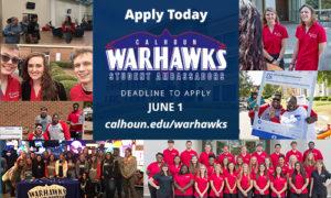 Warhawk applications now open, Deadline June 1