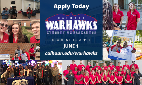 Warhawk applications now open, Deadline June 1