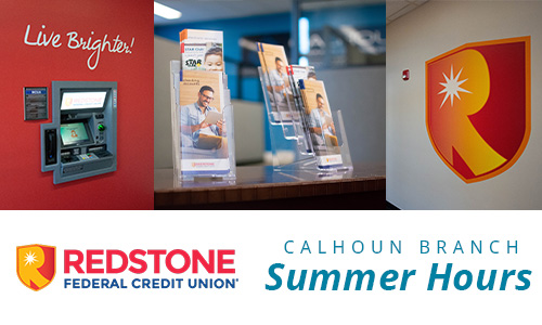 Redstone branch summer hours