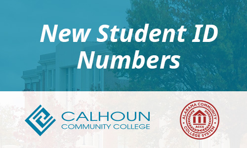 New Student ID Numbers