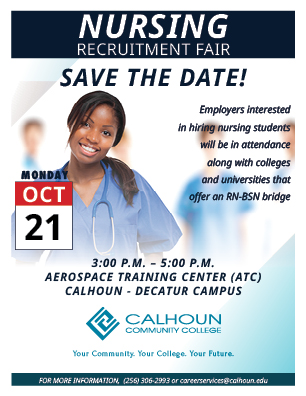 Nursing Recruitment Fair for web - FALL SAVE THE DATE