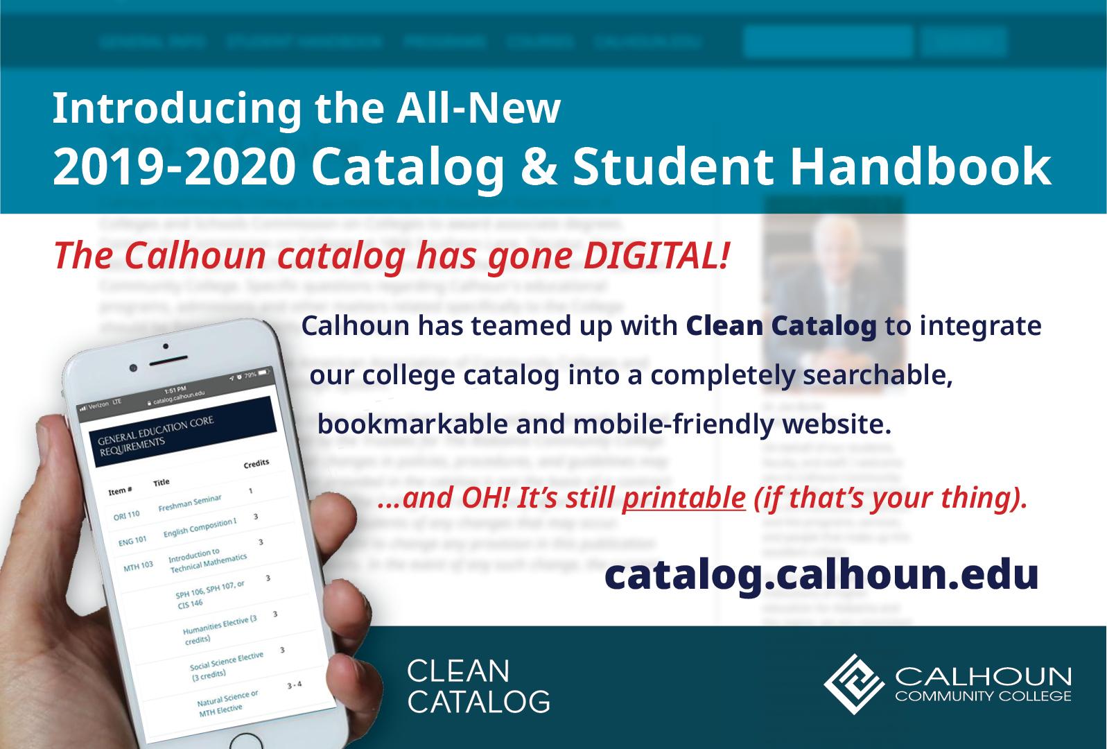 Clean Catalog