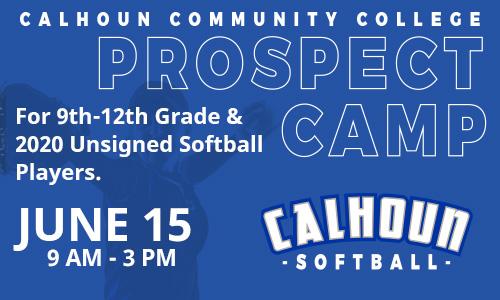 softball prospect camp graphic