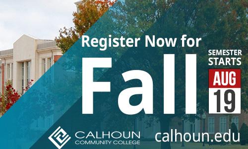 register now for fall