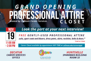 Profesional Attire workshop graphic