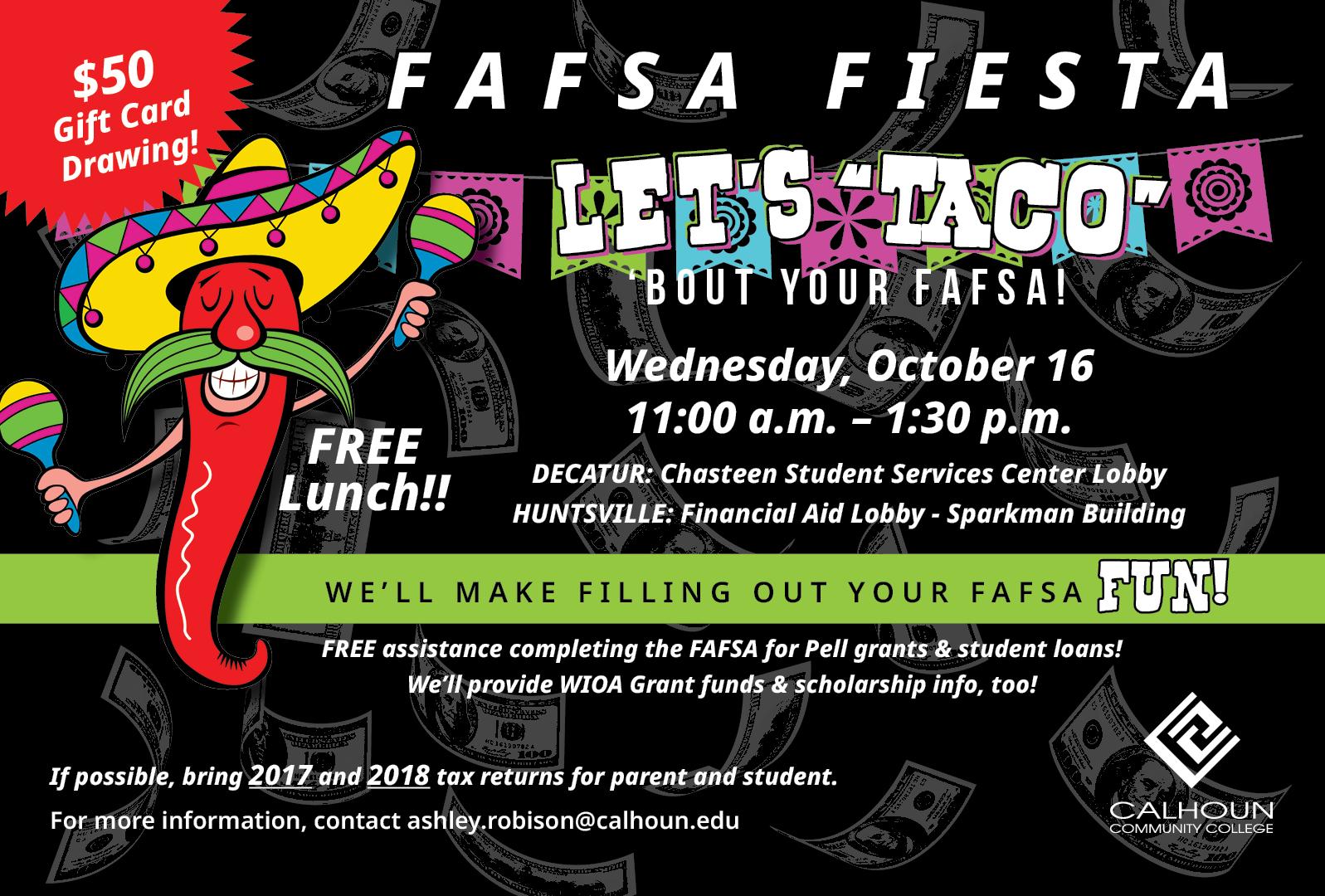 FAFSA Fiesta graphic