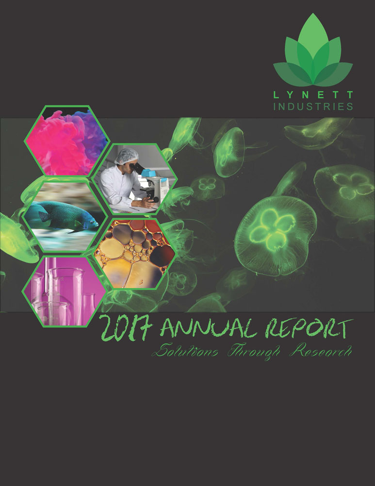 Annual Report Cover designed by Brad Sheeler