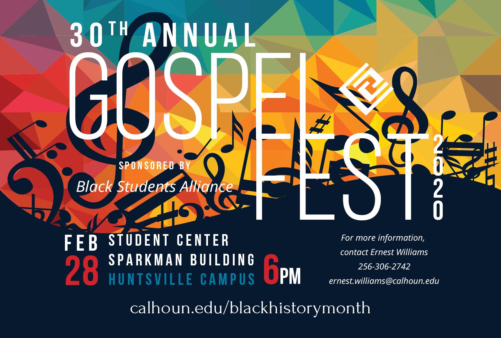 Gospel Fest 2020 plasma