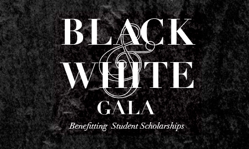 black and white gala