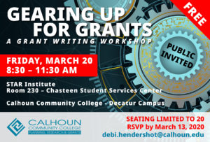 Grants workshop graphic