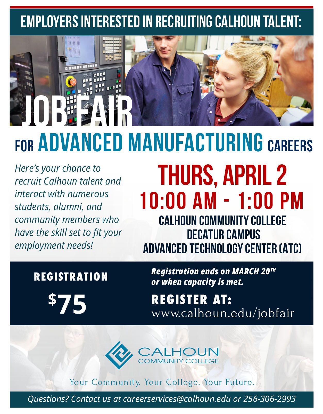 Advanced Manufacturing Job Fair graphic