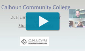 Dual Enrollment Info Session Video