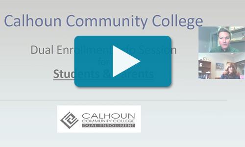 Watch Dual Enrollment info session