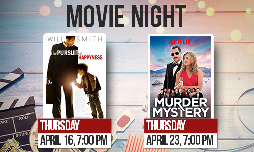 movie night slider graphic