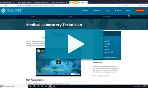 MLT application video