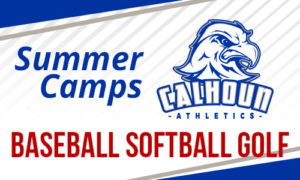 Calhoun Athletics Summer Camps - Baseball Softball Golf