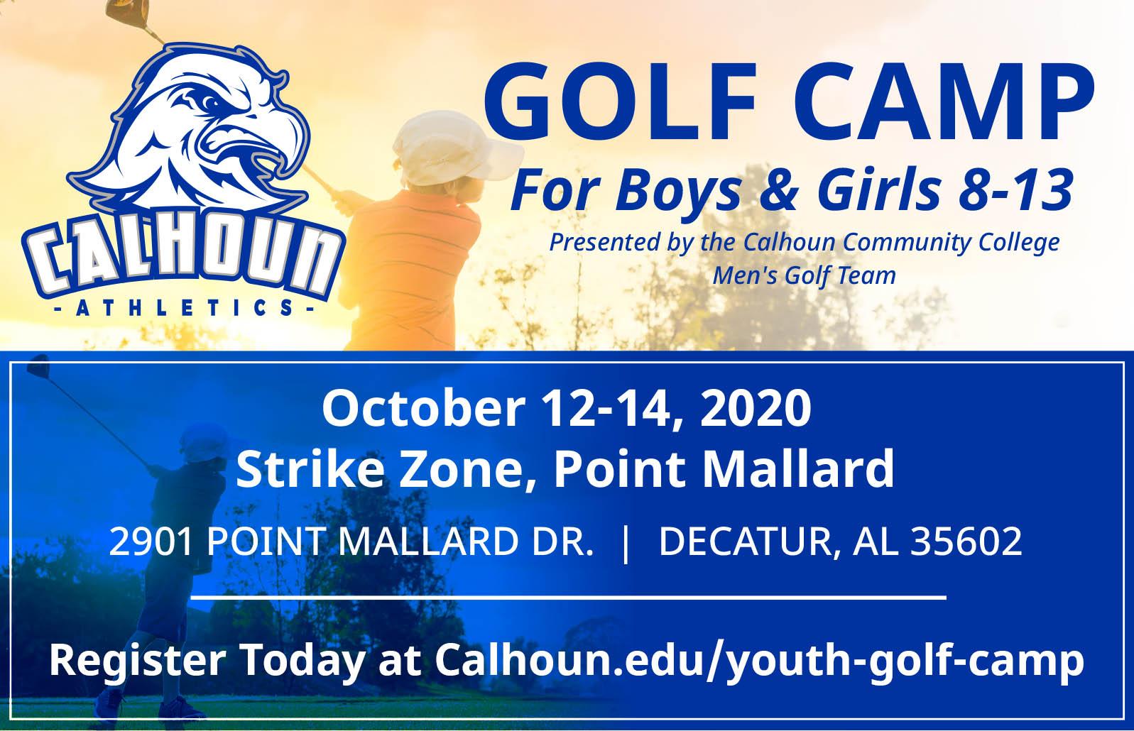 Golf camp graphic