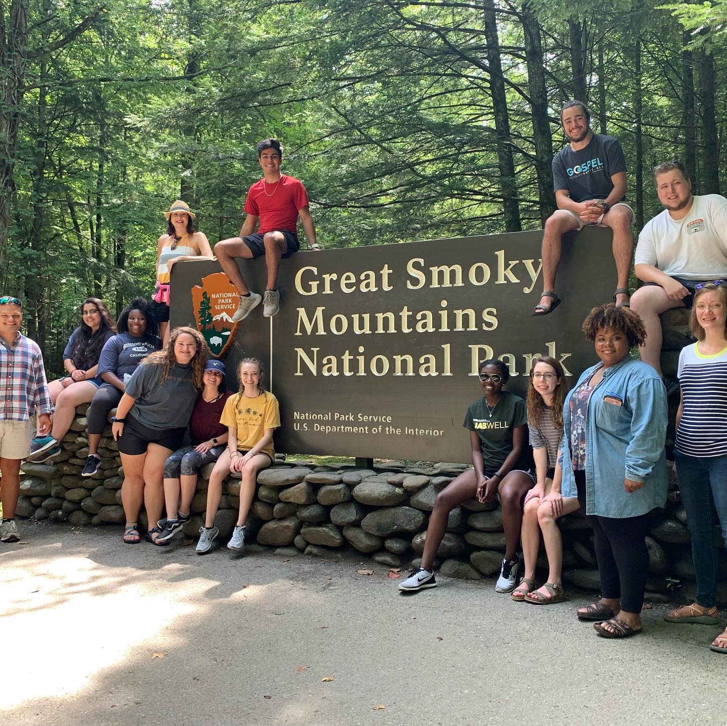 2019-2020 officer training retreat in Gatlinburg, TN