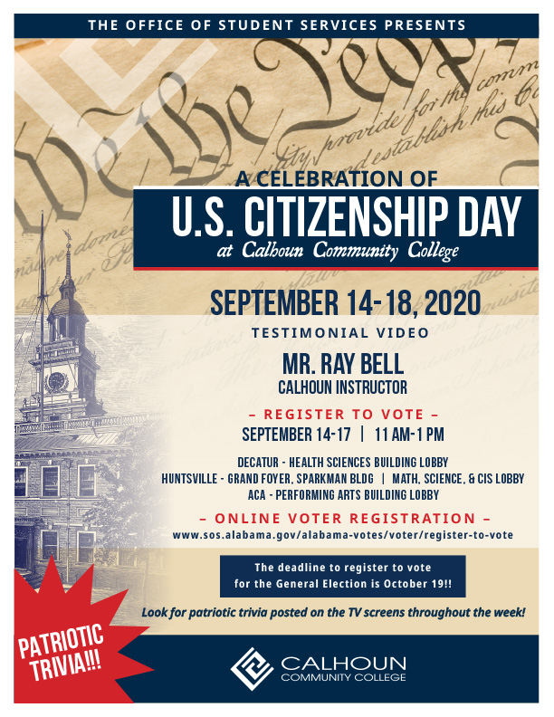 citizenship day flyer graphic