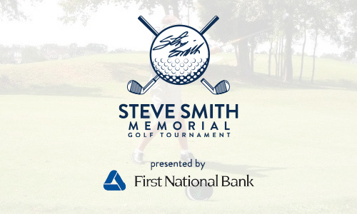 Steve Smith Golf Tournament Graphic