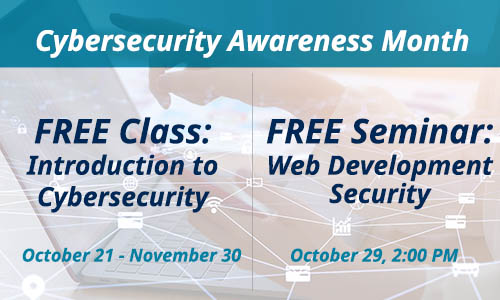cybersecurity awareness month slider