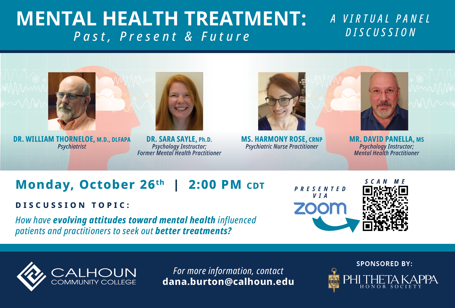 mental health panel discussion 10-20