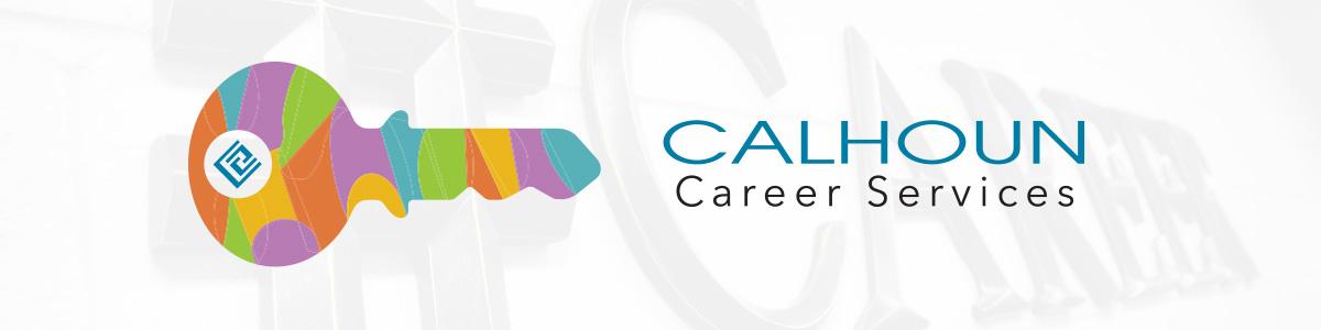 Calhoun Career Services header image